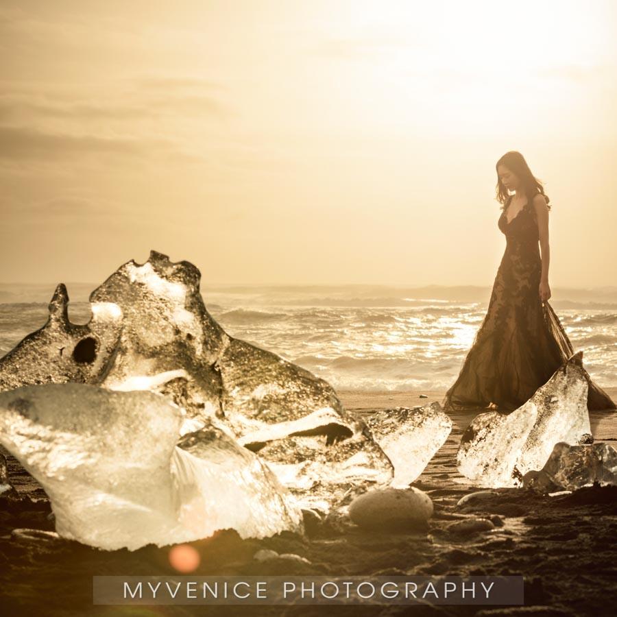 冰岛 iceland 婚纱照