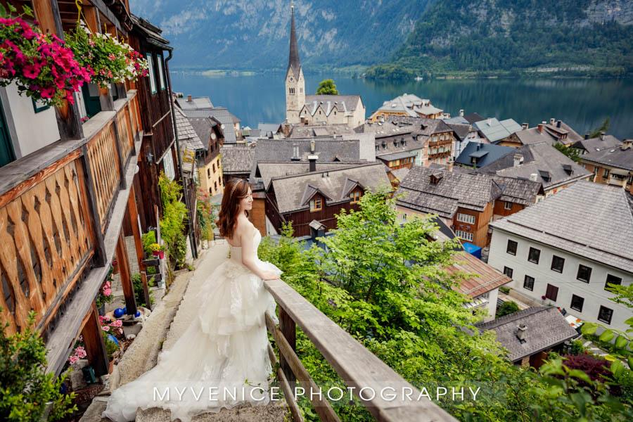 奥地利旅拍, 欧洲婚纱照, 阿尔施塔特, 海外婚纱摄影, hallstatt, austria